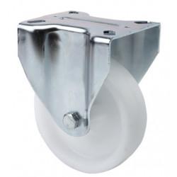 Rueda Fija 150mm 2-0242 Pl.136x116 350kg.liso Pp Bl 17zv150-