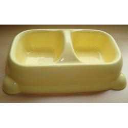 Comedero Doble Perro Plastico 10025 Unidad