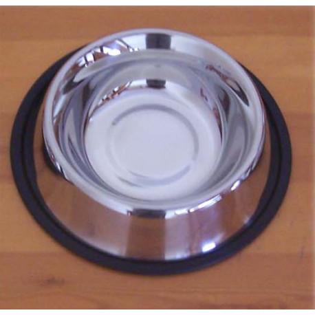 Comedero Animales Inox 30 Cm. 035.050 Unidad 1.8lt