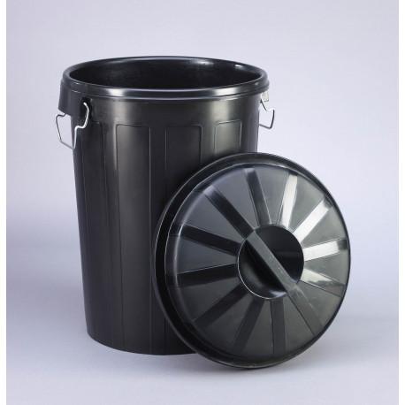 Cubo Basura Industrial Con Tapa 95 Litros 23187
