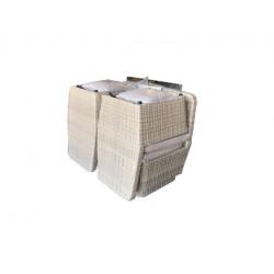 Mueble Jard 4 Piezas Natuur Ratan Gr Cubo Nt123663 6 Pz