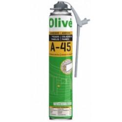 Espuma Adh Poliu. 750 Ml Multim Doble E Uso Olive