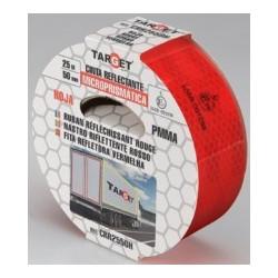 Cinta Adh 50mmx 25mt Señalizacion Autom Retroref Ro Target