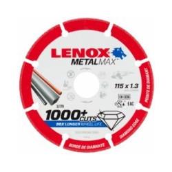 Disco Corte Segment 115x1,3x22,23mm Diam Metalmax Lenox