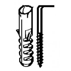 Escarpia Fij Rosca 20x070mm Cincado Nivel 10 Pz