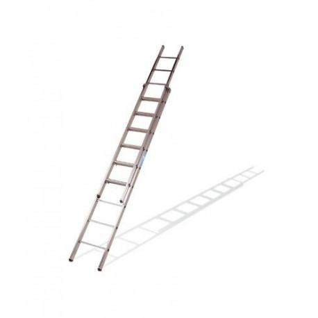 Comprar escalera extensible ktl 12x2 aluminio oferta for Escalera de aluminio extensible 9 metros