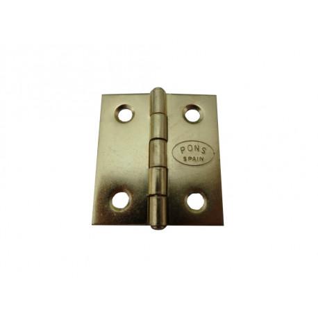 Bisagra M/vent R/bajo 40x35mm Lat C/cu Atorn. Lim