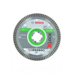 Disco Corte Porcelan. Ø 125mm H 07mm X-lock Turbo Diam Ceram