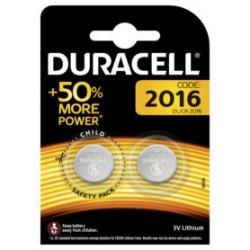 Pila Boton 2016 Duracell 2 Pz