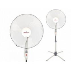 Ventilador Pie 130cm 55w-3 Velocidades Bl 04vm2384000 Magefe