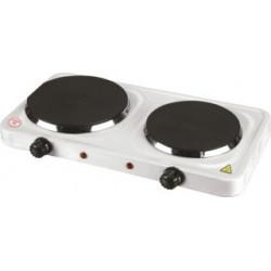 Cocina Portatil 46x24x7,5cm 2500w Elec Vivahogar 2 Quemadore