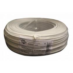 Cable Elec 2x0,50mm Mang Cemi Bl Plano Mp2005.0 100 Mt