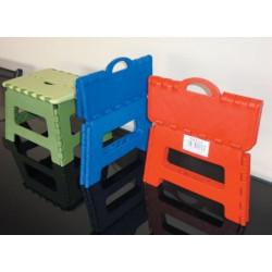 Taburete Multiusos Plast Inyectado H.100kg Plegable Vervi