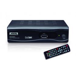 Receptor Tv Tdt T2 Euroconector Hd Hdmi Usb Axil