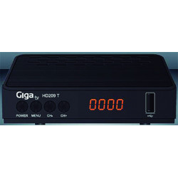 Receptor Tv Tdt T2 Hdmi Euroconector Ne Giga Tv 0