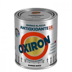 Barniz Antioxi. Mate 750 Ml Inc. Ext. Liso Titan Oxiron Al A